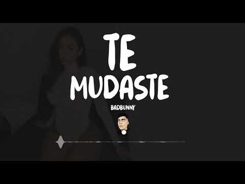 TE MUDASTE (Remix) - Badbunny - Zeta Dj