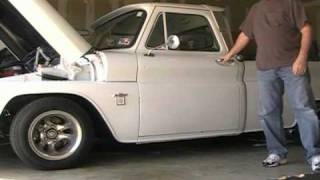 1964 White Chevy Truck After