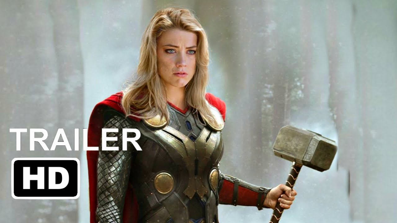 """Download Thor 4: The Love and Thunder """"Teaser Trailer"""" (2022) Chirs Hemsworth, Christian Bale 'Marvel Concept"""