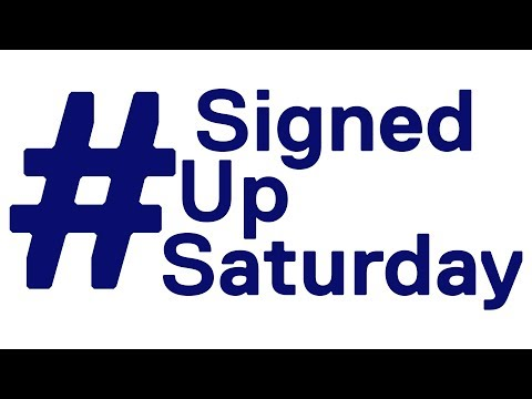 #SignedUpSaturday Highlights