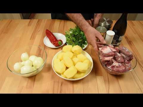 СОУС  из ГОВЯДИНЫ с картошкой очень вкусный и простой рецепт