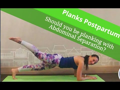 Postpartum Planks - Yes or No?