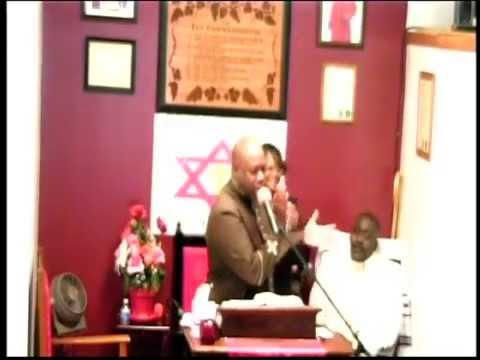 Pastor Eric Wallace   Bishop Holmes 4th Aniversary