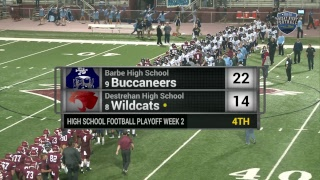 Barbe High School vs. Destrehan High School Football (2017 - 2nd Round)