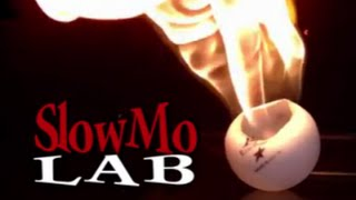 Will It Melt?! - Intense Ping Pong Burning in Slow Motion | Slow Mo Lab