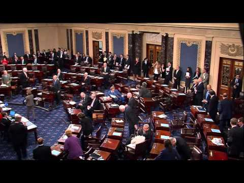 Senator Leahy Casts 15,000th Vote In The U.S. Senate
