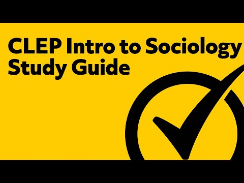 CLEP Intro to Sociology Study Guide Questions