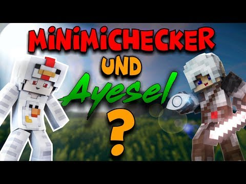 Minimichecker and AyeselTPW Play Bedwars Together