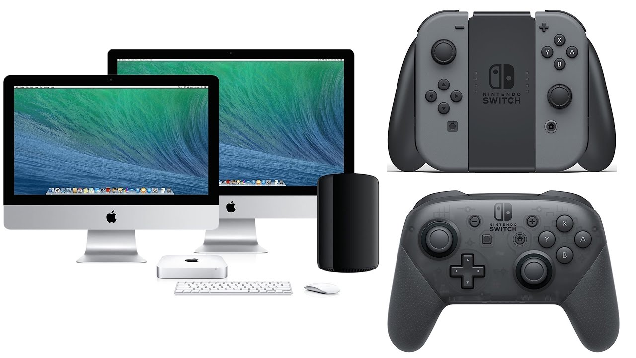 How To Play Mac Games With Nintendo Switch Joy-Con and Pro Controllers!