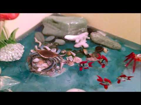 Epoxy Seascape Vanity Top