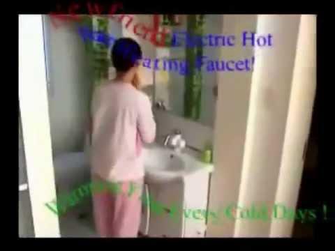 ก๊อกน้ำร้อน+เครื่องทำน้ำอุ่นราคาประหยัด