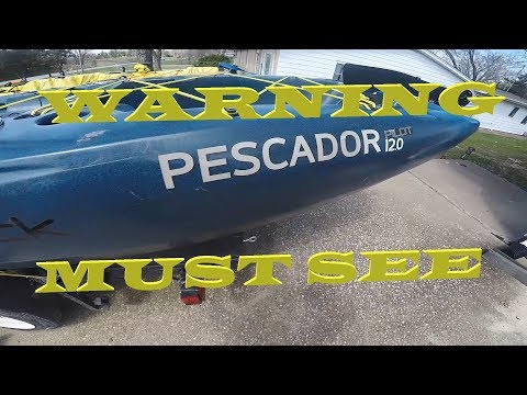 WARNING!! WATCH BEFORE BUYING A PERCEPTION PILOT | 6 MONTH Review Perception Pescador Pilot 12.0