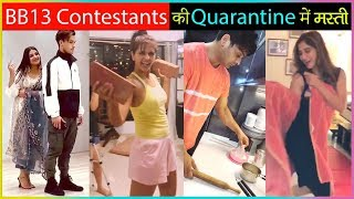 Bigg Boss 13 Contestants Sidharth, Rashami, AsiManshi FUN Videos Will Make Your Day In QUARANTINE