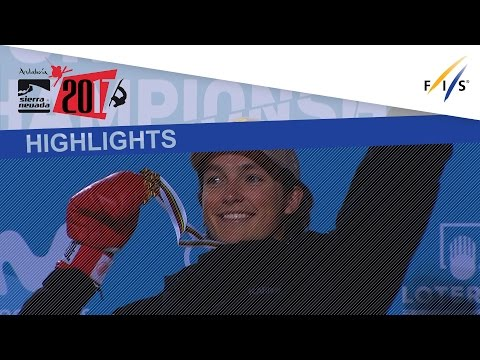 Highlights | Cai and James confirm gold in Halfpipe | Fis Snowboard World Championship 2017