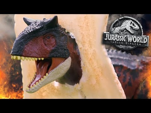 Carnotaurus - TOAST!!! - Jurassic World Fallen Kingdom Review and Unboxing