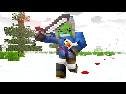 Zombie & Chicken Life - The Minecraft Movie - Видео из Майнкрафт (Minecraft)