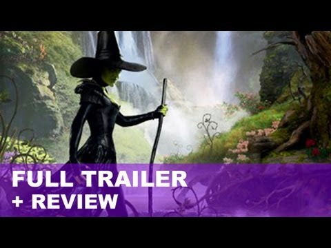Oz The Great and Powerful Official Trailer 2 + Trailer Review : HD PLUS