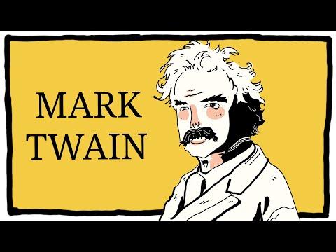 Марк Твен писатель | краткая биография | интересные факты |
