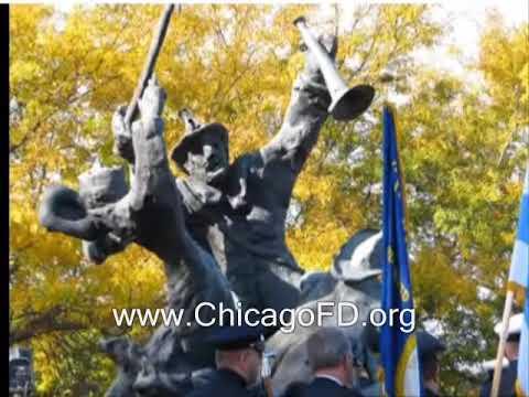 Chicago Fire Dept. - Union Stockyard Fire of 1910 The Fallen 21 10-8-2010