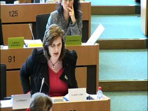 Nikki Sinclaire MEP calls for cuts in the European Parliament budget