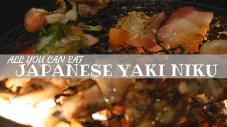 All You Can Eat Japanese BBQ In Shibuya!!