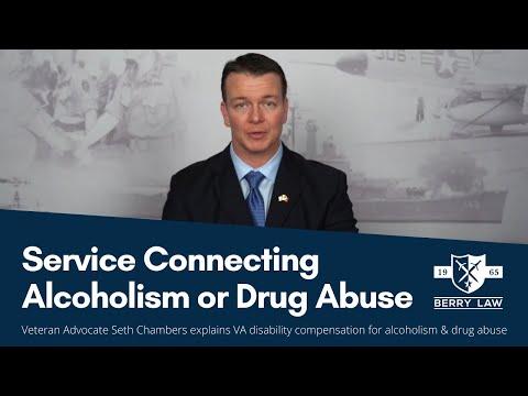 VA Compensation for Alcoholism & Drug Abuse | PTSD Lawyers