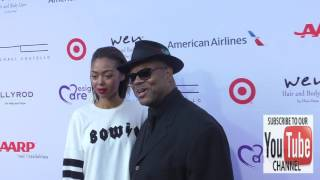 Jimmy Jam Harris and Bella Harris at the 18th Annual DesignCare Gala at Sugar Ray Leonards House in