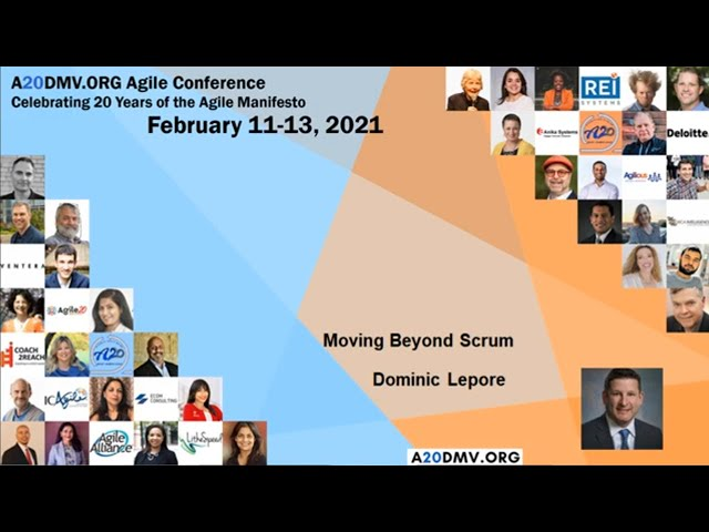 Move Beyond Scrum by Dominic Lepore