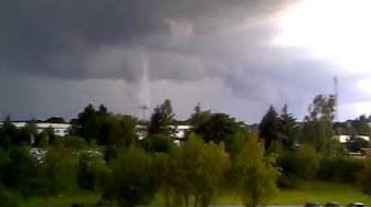 Tornado - Lößnitz 14.08.11 ca. 19:00 Uhr MESZ
