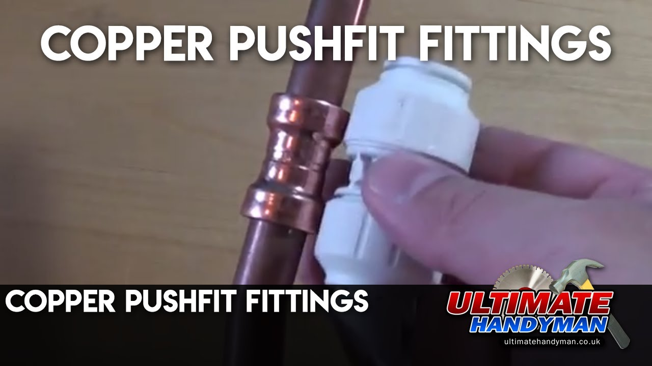 Copper Pushfit Fittings Youtube