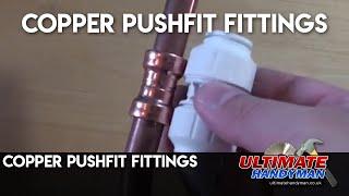 copper pushfit fittings
