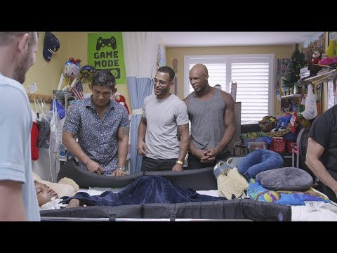 Professional MMA Fighters visits Broward Children's Center for Toy Drive