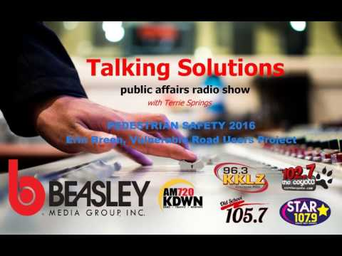 Talking Solutions on Pedestrian Safety