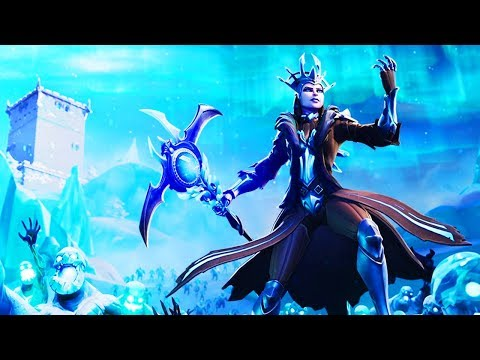 *THIS* IS WHAT HAPPENED!! NEW ICE QUEEN EVENT COMING IN FORTNITE: BATTLE ROYALE..
