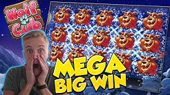 BIG WIN!!!! Wolf cub Big win - Casino - Huge Win (Online Casino)