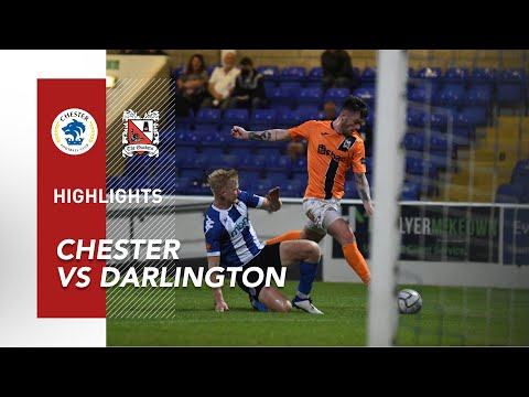 Chester Darlington Goals And Highlights