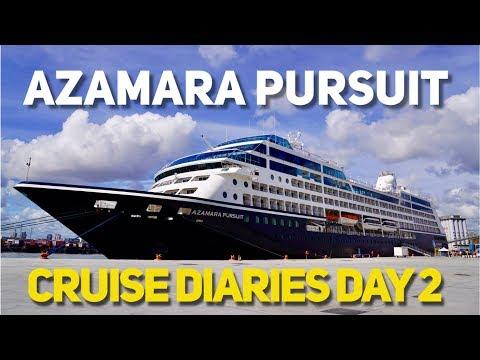 Azamara Pursuit Cruise Diaries vlog Part 2 - Dublin