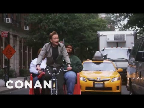 Conan O'Brien: NYC Pedicab Driver