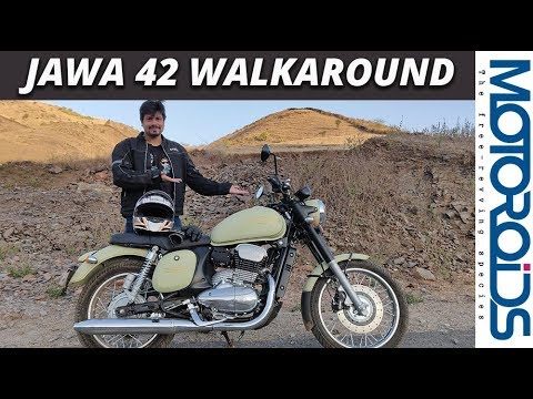 Jawa 42 Walkaround Review In English | Motoroids