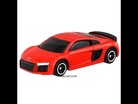Tomica Regular No.39 Audi R8 (Red) TOMY Unboxing Video