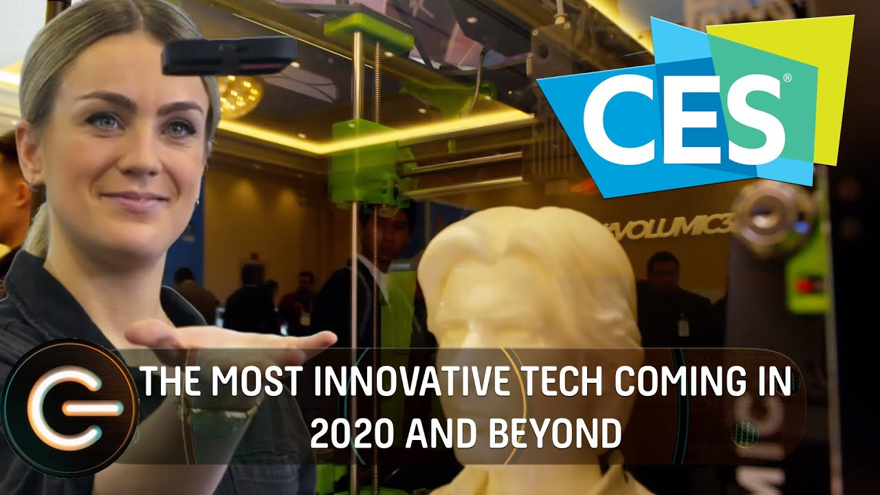 The Most INNOVATIVE tech for 2020 The Gadget Show