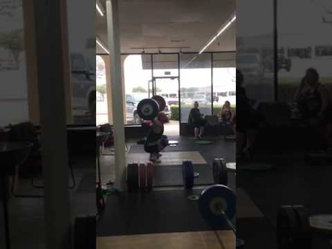 Willie McLendon 120kg/264# Snatch