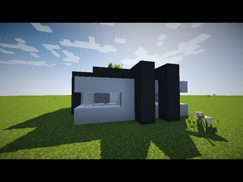Minecraft Small Modern Survival House