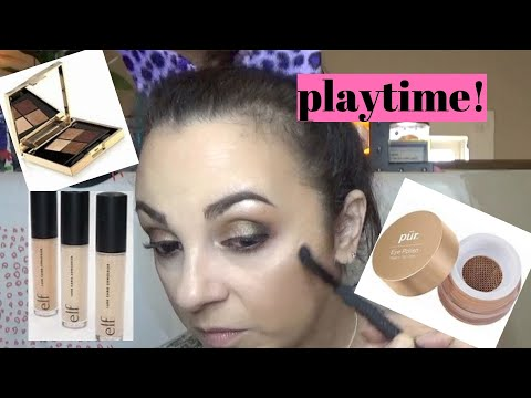 Full face of newness. Let's play with makeup-Smith and Cult,Pur cosmetics, benefit and more thumbnail