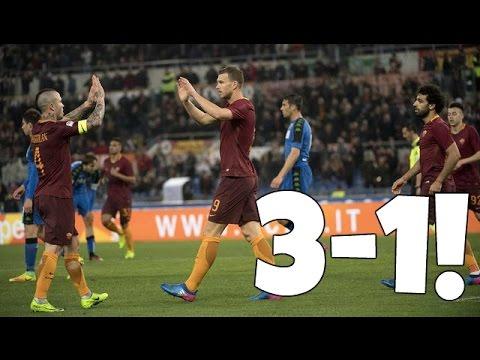ROMA - SASSUOLO 3-1| EDIN DZEKO FA TRENTUNO!!!!! DAJEEEE!!!