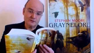 """Stephen Moore reads from his fantasy, """"Graynelore"""""""