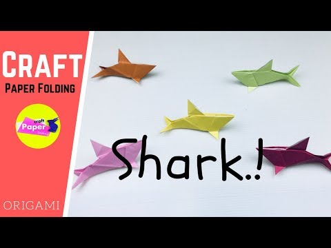 Shark Cootie Catcher - Origami for Kids - Easy Peasy and Fun | 360x480