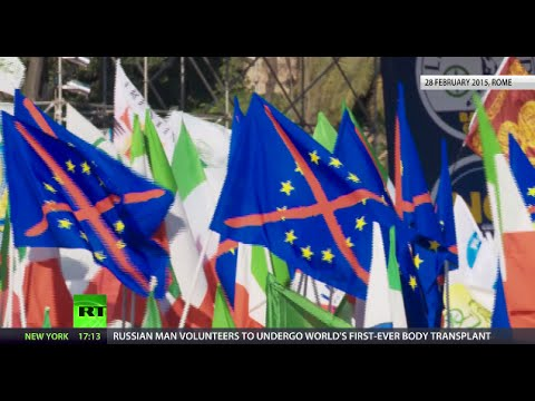 Over 100K Italians sign petition for Eurozone exit referendum