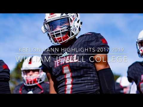 Keelon Vann 2017-2019 Highlights William Jewell College