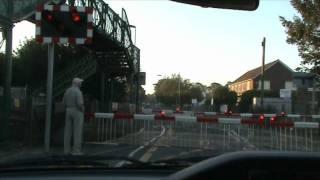 Goring level crossing